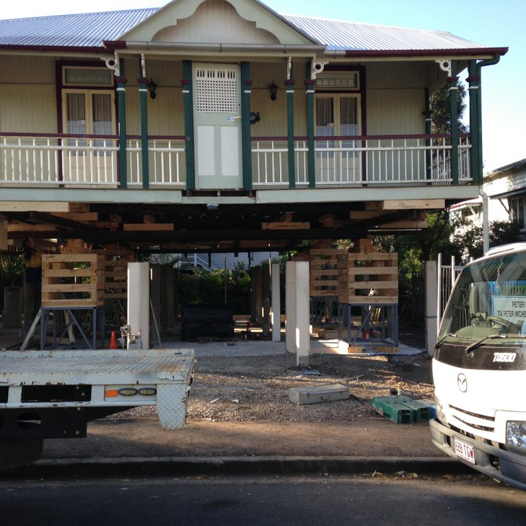 Brisbane House Raising and Restumpling