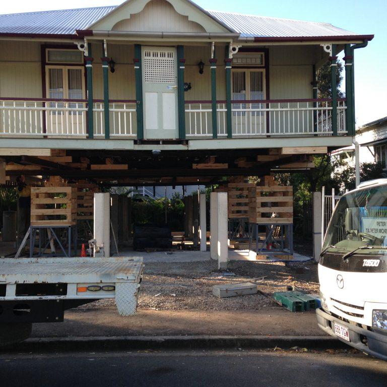 Brisbane House Raising and Restumpling