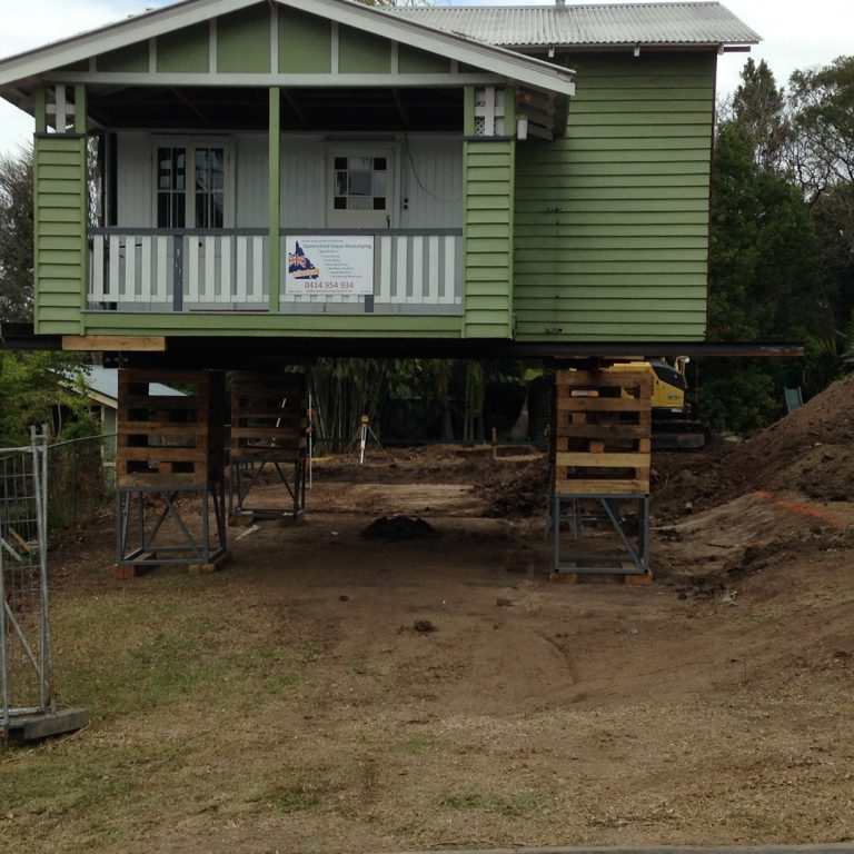 Brisbane house raising